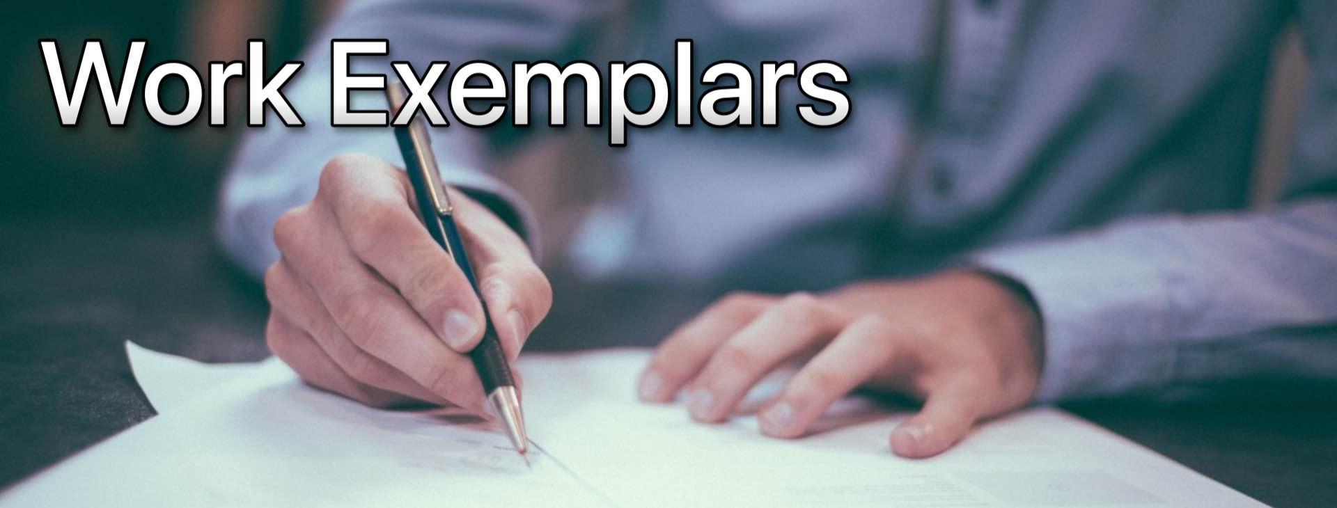 Work Exemplars